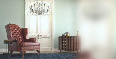 Stil in der Wohnung mit Kristall Kronleuchter