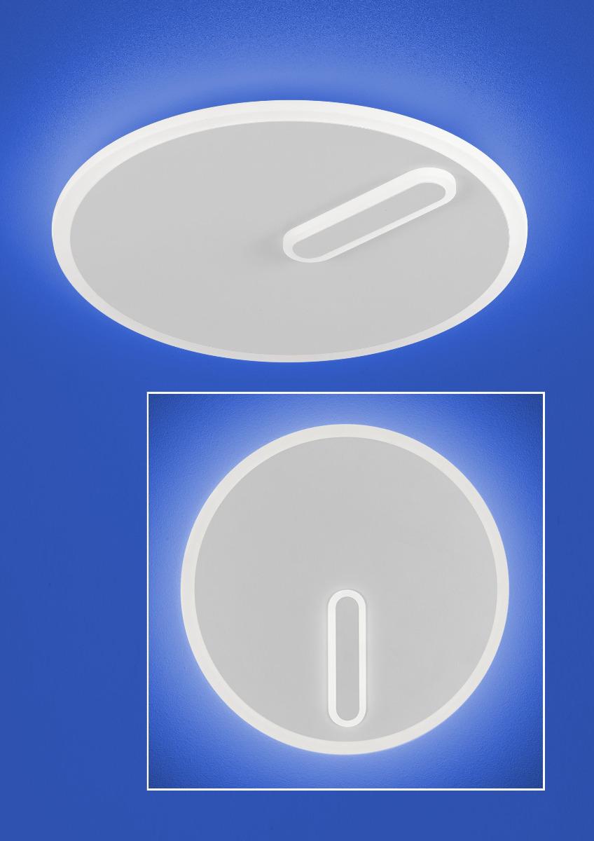B-Leuchten Artikel von B-Leuchten LEVA LED-Decken- und Wandleuchte 70401/1-07