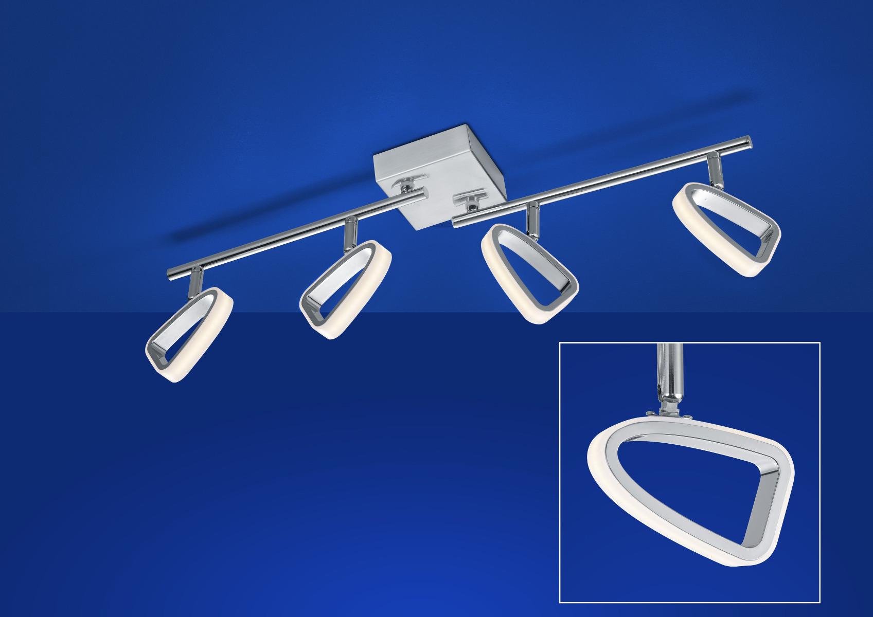 B-Leuchten Artikel von B-Leuchten FLEX LED Deckenleuchte 70425/4-92
