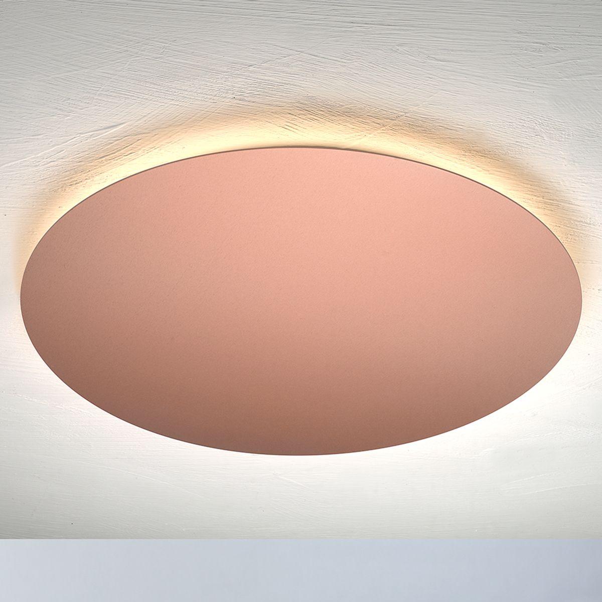 Serie BLADE VON ESCALE LEUCHTEN von Escale Leuchten von Escale Leuchten Blade Deckenleuchte-rosé matt 69180209