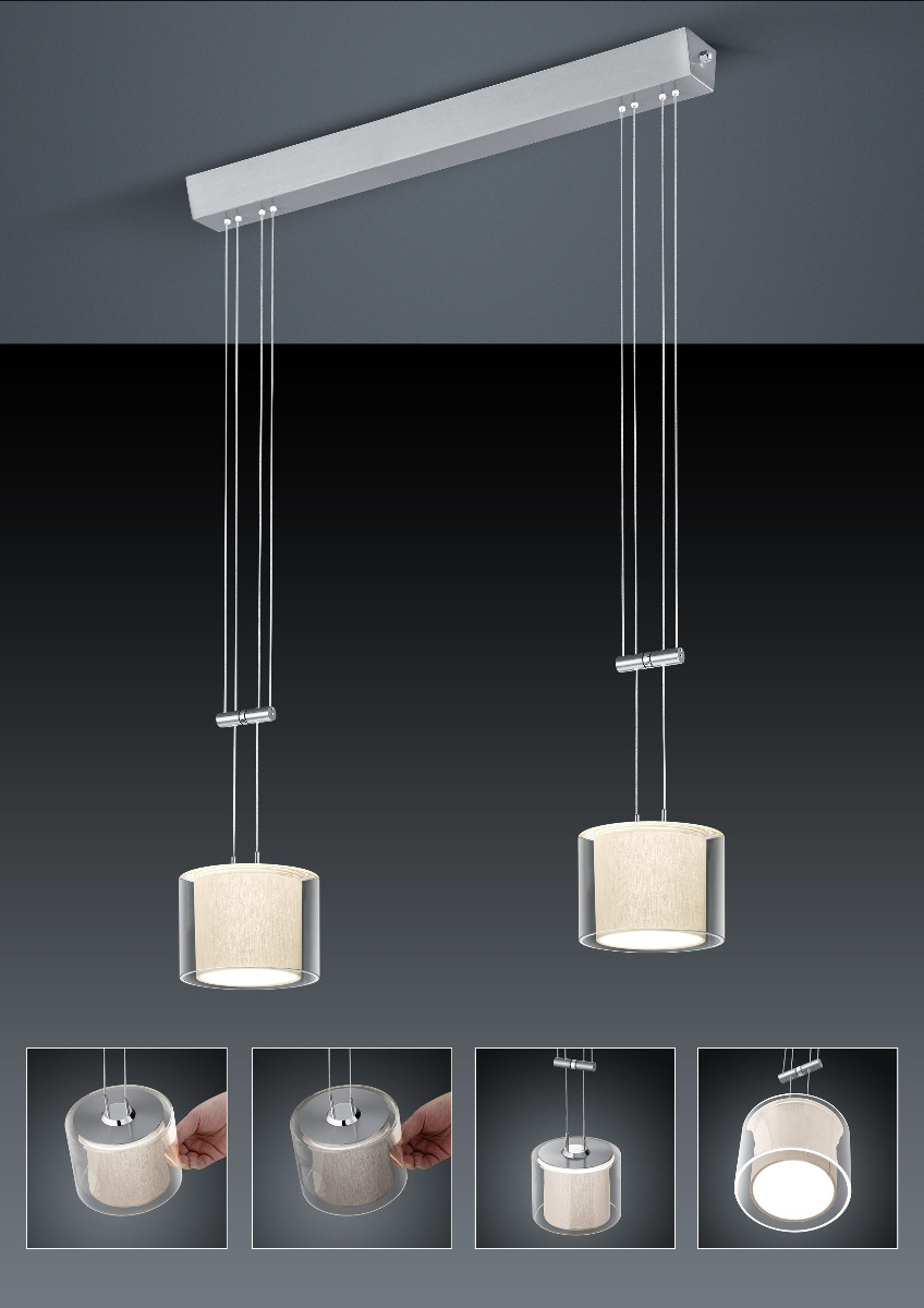 CECIL LED Pendelleuchte von BANKAMP Leuchtenmanufaktur