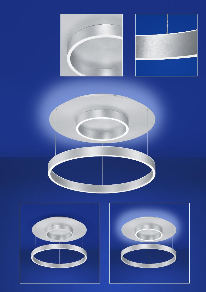 Delta LED Deckenleuchte von B-Leuchten