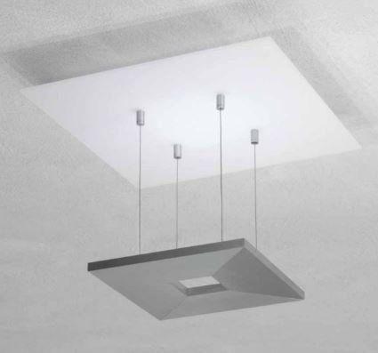 Zen Pendelleuchte-Aluminium geschliffen von Escale Leuchten