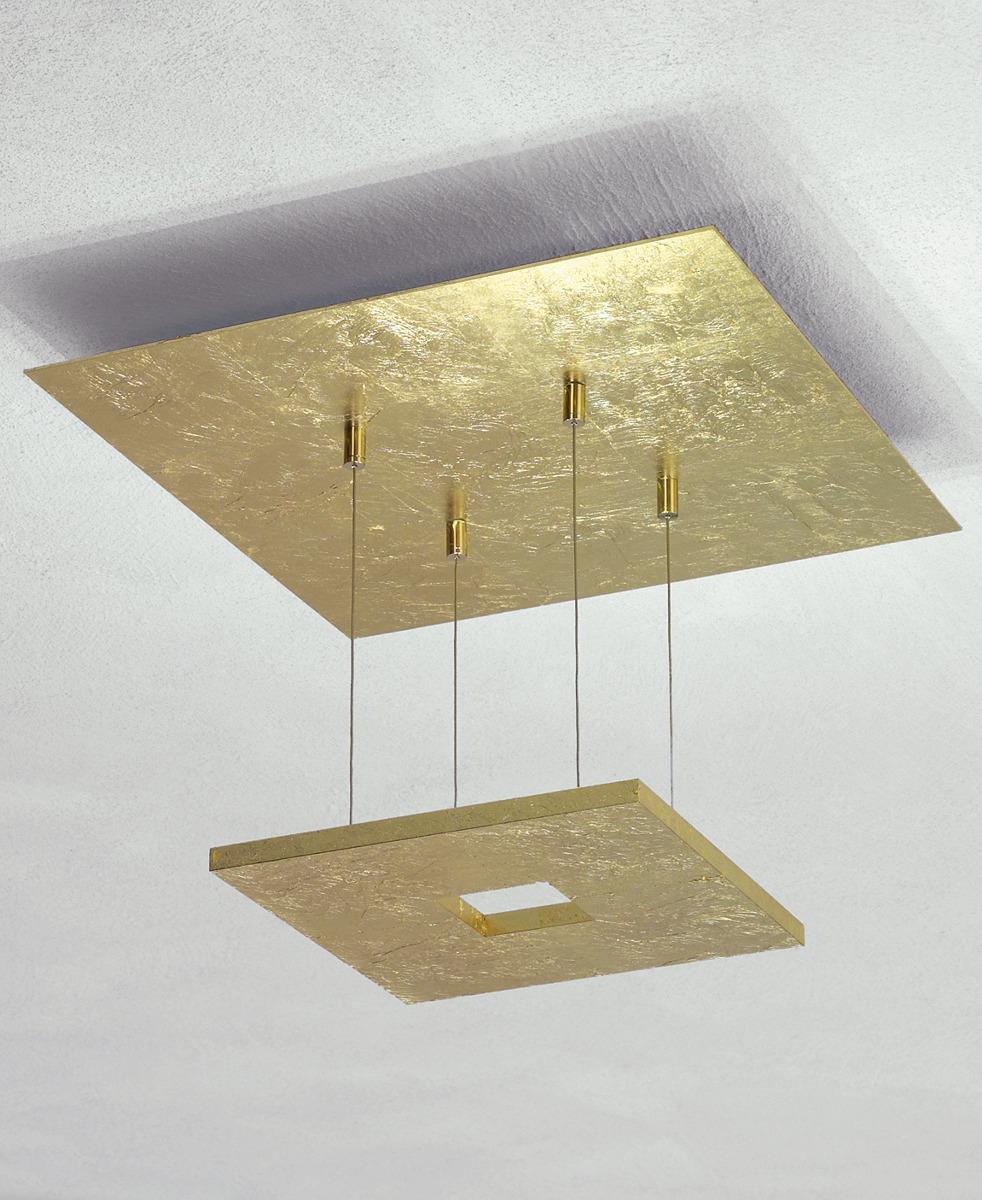 Zen Pendelleuchte-Blattgold von Escale Leuchten