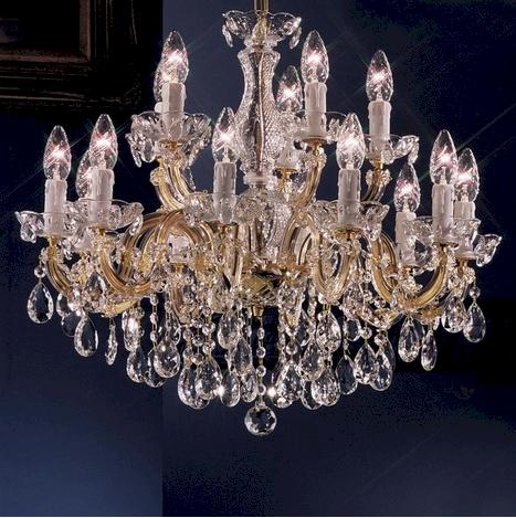 Valerie Luster   chandelier Kronleuchter von KOLARZ Leuchten