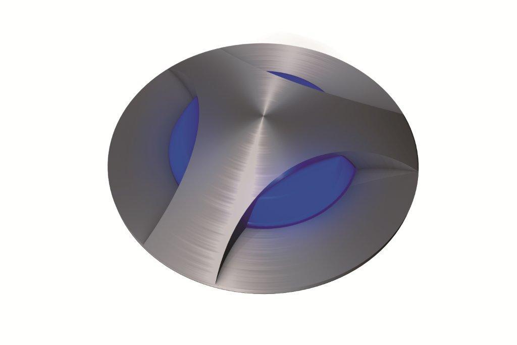 Einbauleuchten von dot-spot dome-spot, 3-facher Lichtaustritt, Artikelnummer alt: 2103.01.42.02 33300.00.32