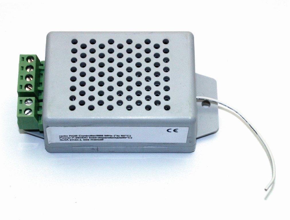 RGB-Funk-Controller fc funk 10- 24 V, max. 3x 5 A von dot-spot