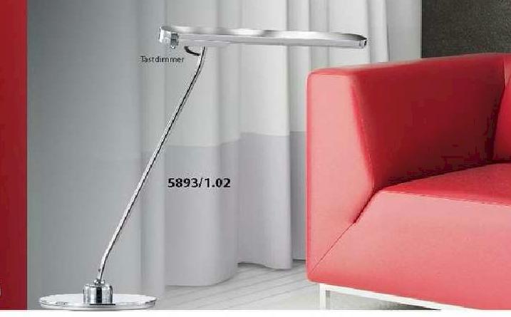 Led Wohnzimmerleuchten : BANKAMP LED- Tischleuchte aus der Serie ARCO ...