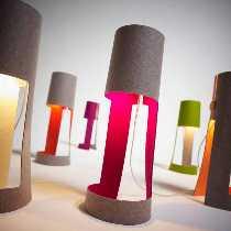 DOMUS – Licht zum Wohnen Artikel von DOMUS – Licht zum Wohnen MIA Tischleuchte Grün/Grau 7970.51