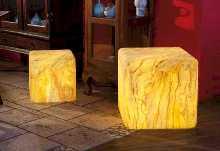 Bodenbefestigung für Würfel 35 und Pyramide 54 von EPSTEIN Design Leuchten