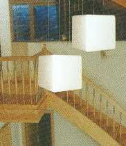 EPSTEIN Design Leuchten Leuchten von EPSTEIN Design Leuchten Sahara Würfel Pendel-/Hängeleuchte 10359