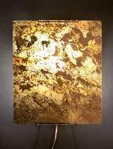 EPSTEIN Design Leuchten Artikel von EPSTEIN Design Leuchten Schiefer Wandleuchte 28 halbrund 15519