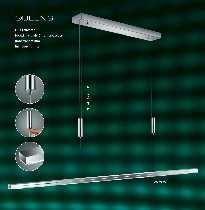 Hängeleuchten von BANKAMP Leuchtenmanufaktur LED-Hängeleuchte Queens, dimmbar 2907/8-92