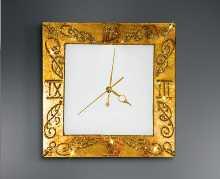 Wandleuchten von KOLARZ Leuchten Medici Wanduhr Ausstellungsstück 0331.20.AU