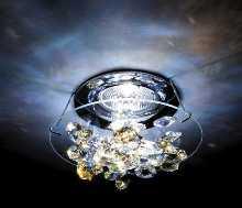 SWAROVSKI Leuchten Leuchten von SWAROVSKI Leuchten ICE COLOR crystal AB Decken-Einbauleuchte A8992NR030015