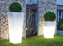 EPSTEIN Design Leuchten Artikel von EPSTEIN Design Leuchten Quadro 68 Pflanzgefäß Aussenleuchte 20135