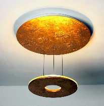 SATURN LED Deckenleuchte 3-flammig dimmbar von Bopp Leuchten