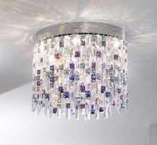 Kristall-Artikel von KOLARZ Leuchten Deckenleuchte Prisma Stretta 45 cm 1344.16.5.P1.KpTV