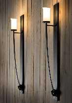 Moderne Robers Leuchten Artikel von Robers Leuchten Industrial Wandleuchte WL3625