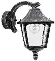 Artikel von Albert Leuchten von Albert Leuchten Wandleuchte, Alu, schwarz-silber 601821
