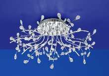 Kristall-Artikel von B-Leuchten LED-Deckenleuchte CRYSTAL 70327/770-02