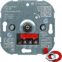 Dimmer für LED 3-85W, sonst 20-250 W, Phasenanschnitt von LED-KING