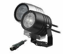 LED von dot-spot clarios eco 6 Watt LED Garten- und Objektstrahler mit Honeycomb, Lichtfarbe neutralweiß, Abstrahlwinkel 15°, Mantelleitung 5 m 20207.840.15.33