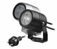 LED von dot-spot clarios eco 230 V LED Garten- und Objektstrahler mit Honeycomb, Lichtfarbe warmweiß 20506.827.15.52