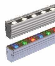 LED von dot-spot LED Wallwasher lineo LED Garten- und Objektstrahler, Lichtfarbe warmweiß, Abstrahlwinkel 17°, ohne Blendschutz 23996.827.17.00