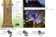 Light-Belt, Baumgurt, uni LED Garten- und Objektstrahler von dot-spot