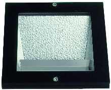 Einbauleuchten von Albert Leuchten Erdeinbaustrahler, Alu, schwarz 662114