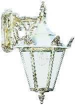 Albert Leuchten Artikel von Albert Leuchten Wandleuchte, Alu, weiß-gold 671807