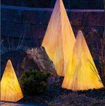 Sahara Pyramide 36 cm von EPSTEIN Design Leuchten