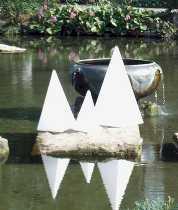 Pyramide 54 cm von EPSTEIN Design Leuchten
