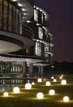 Snowball 50 cm Durchmesser ortsveränderlich von EPSTEIN Design Leuchten