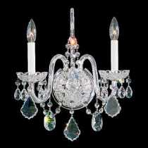 SCHONBEK Leuchten Artikel von SCHONBEK Leuchten Olde World Kristallwandleuchte 6807E-20A