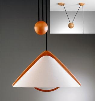 PILA Zugleuchte 1 / PILA Suspension lamp 1 von DOMUS