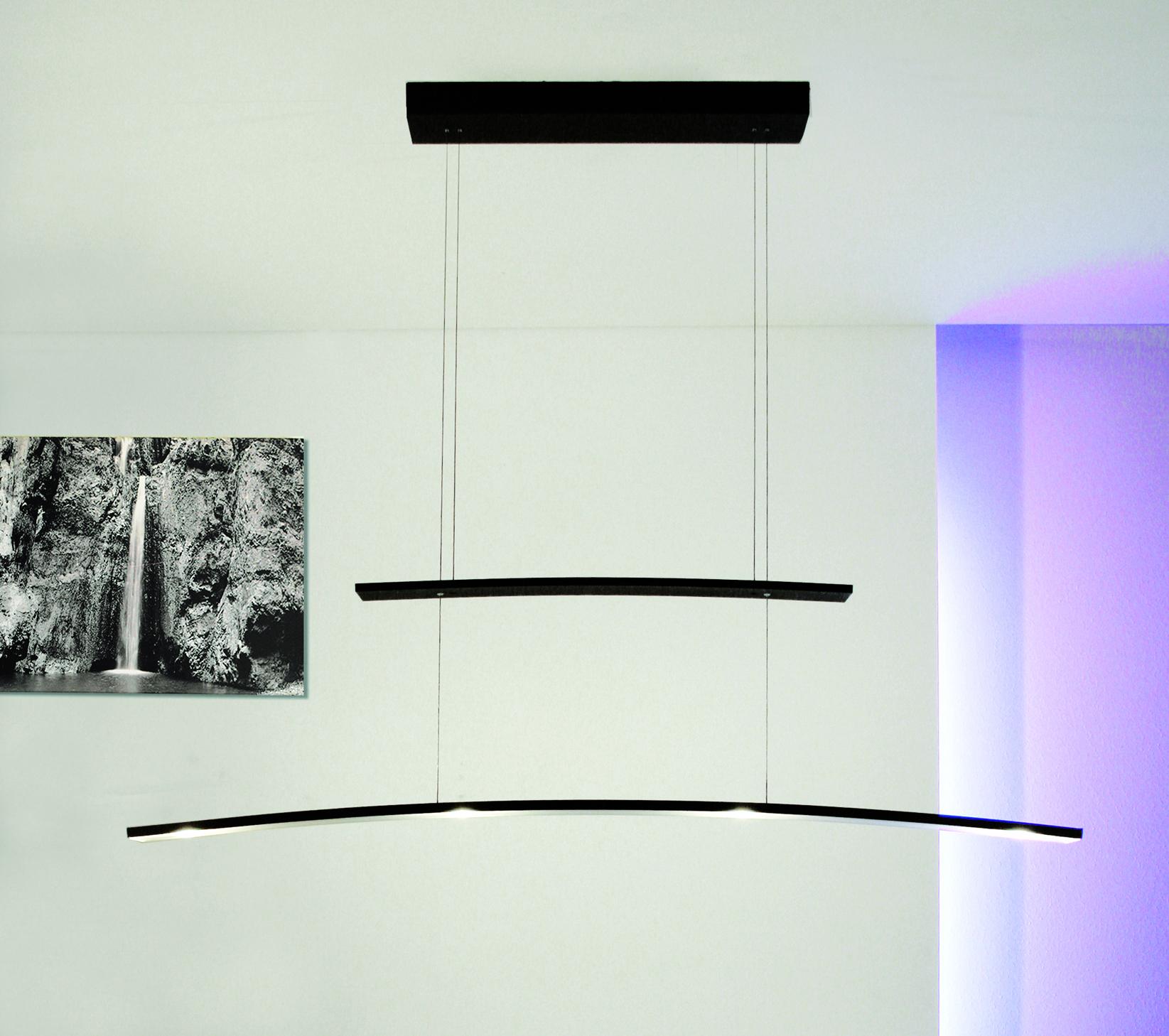 bopp arco led h ngeleuchte 4 flammig dimmbar 28090409 leuchtenking. Black Bedroom Furniture Sets. Home Design Ideas