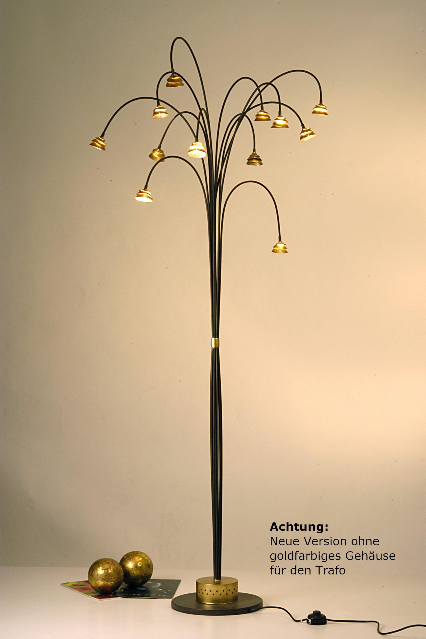 Designer-Artikel von Holländer Leuchten Stehleuchte SNAIL TWO 300 K 1173