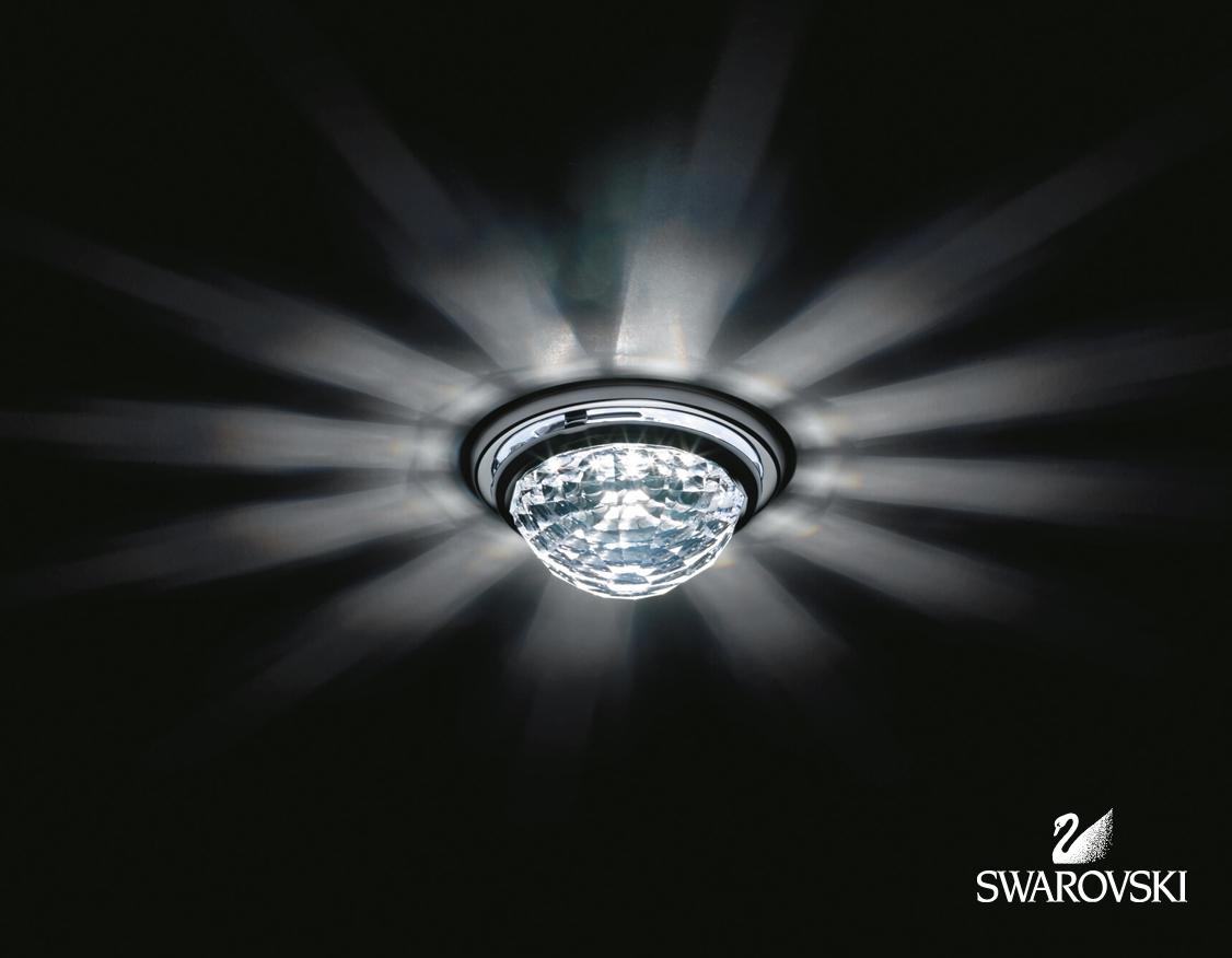 Designer-Artikel von SWAROVSKI Leuchten VEGA crystal Decken-Einbauleuchte A8992NR040010CRY
