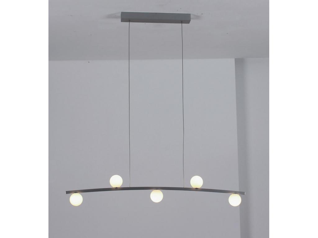 31690509 cascade led h ngeleuchte 5 flammig von linus bopp leuchten. Black Bedroom Furniture Sets. Home Design Ideas