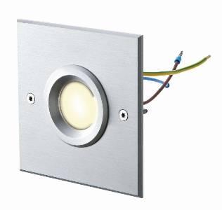 Sonderangebote - Sale bei Einbauleuchten von dot-spot object-light 230 V, quadratisch, Alu matt, diffus, warmweiß 10101.830.00.01
