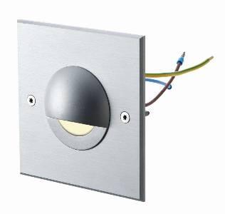 Sonderangebote - Sale bei Einbauleuchten von dot-spot side-light 230 V, quadratisch, klar, Leuchtfarbe:  warmweiß 11101.830.01.01