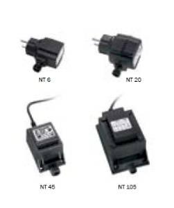 LED-Leuchten von dot-spot Trafo 12 V AC, 6 W, 12 V AC, Stecksystem, IP 44, Artikelnummer alt: 2013.94.42.92 90101