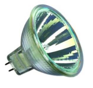 OSRAM Halogenlampe 51 GU5,3 12V 50W mit Scheibe von UNI-Elektro