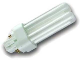 Kompaktleuchtstofflampen von UNI-Elektro OSRAM Kompaktlampe G24q-2 18W Hellweiss DULUX D/E 18W/840