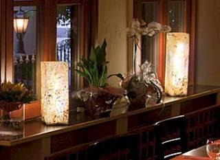 Schiefer Säule 11x11x35/ Innenleuchte von EPSTEIN Design Leuchten