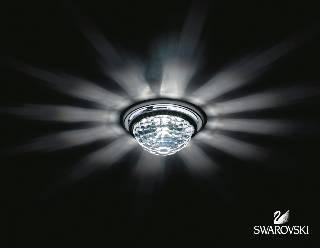 Sonderangebote - Sale bei Einbauleuchten von SWAROVSKI - SCHONBEK VEGA crystal Decken-Einbauleuchte A8992NR030010CRY
