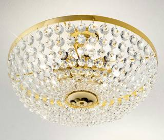 Deckenleuchten & Deckenlampen von KOLARZ Leuchten Deckenleuchte Valerie Durchmesser 50 cm - Ausstellungsstück - 960.18K.3