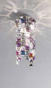 KOLARZ Leuchten Artikel von KOLARZ Leuchten Deckenleuchte Prisma Stretta Rund 1344.11M.3.P1.KpTGn